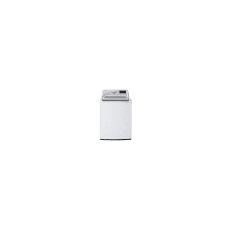 LG WT7800CW 5.4 cu.ft. Mega Capacity Top Load Washer with Turbowash™ Technology, Wi-Fi Enabled, White