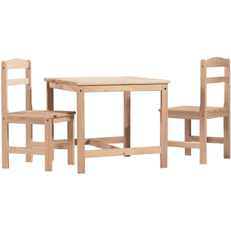 International Concepts 3 Piece Kids 39 Table And Chair Set