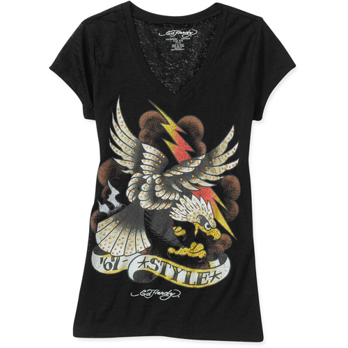 Ed Hardy Juniors Eagle Cloud Tee