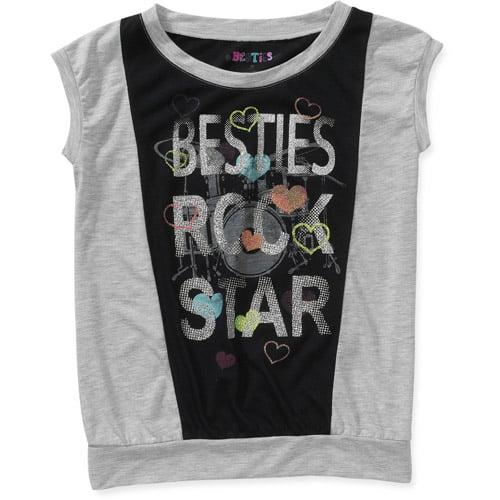 Besties Girls Color Blocked Top
