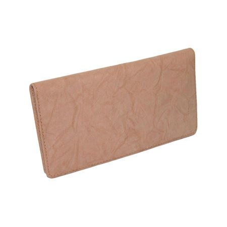 Leather Deluxe Checkbook Cover and -