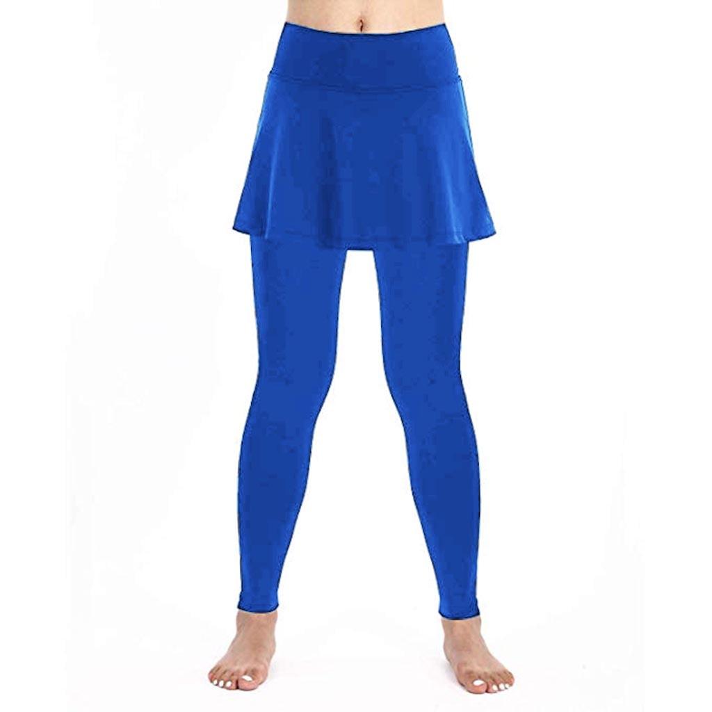 Miarhb Miarhb Women S Casual Skirt Leggings Tennis Pants Sports Fitness Culottes Walmart Com Walmart Com