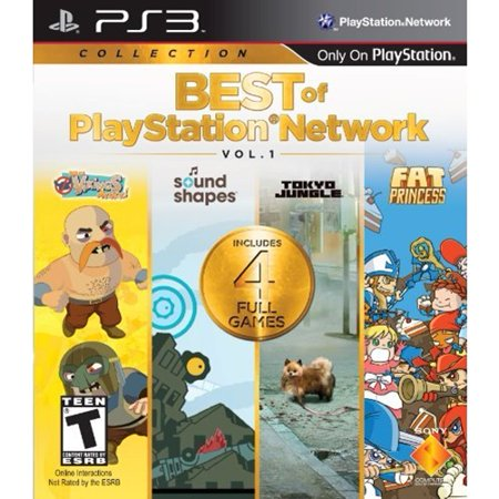 Best Of Playstation Network  Vol  1 Ps3