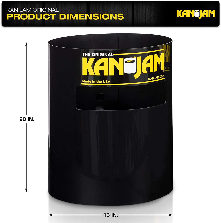 Comprend 2 cibles Kan Jam et 1 disque volant ; plusieurs styles disponibles Mat/ériau durable et r/ésistant aux intemp/éries Kan Jam Jeu de disque portable en plein air