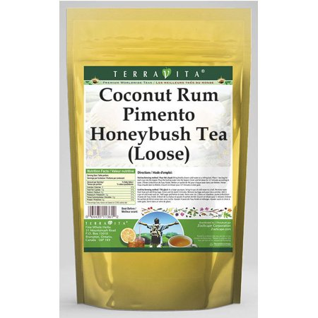 Coconut Rum Pimento Honeybush Tea (Loose) (4 oz, ZIN: