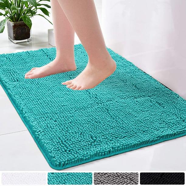Soft Bedroom Bathroom Living Room Shower Door Mat Carpet Floor Rug Set