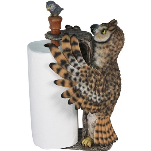 River's Edge Products Owl Paper Towel Holder