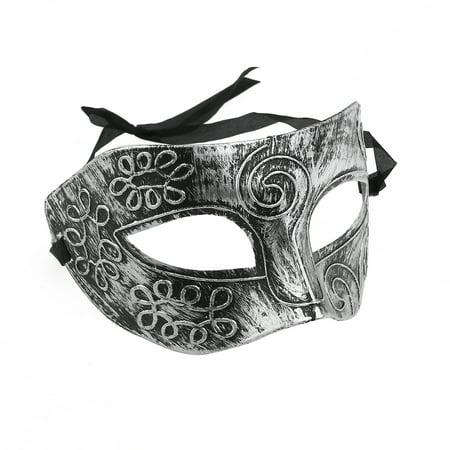 TINKSKY Men Greek Roman Fighter Masquerade Face Mask for Fancy Dress Ball / Masked Ball / Halloween