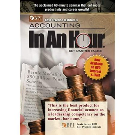 Best Practice Institute's Accounting In An Hour - Get Smarter Faster DVD by Rick J. Makoujy, Jr.](Halloween Express Hours Austin)