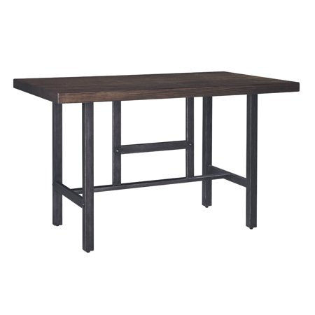 Signature Design By Ashley - Kavara Rectangular Dining Room Counter Table - Casual Style - Medium Brown ()
