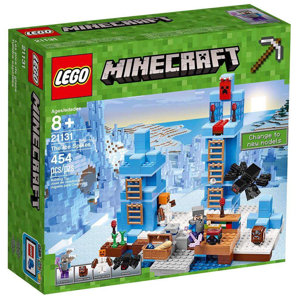 63edae990776 LEGO Minecraft The Ice Spikes 21131 Building Set (454 Pieces) - Walmart.com