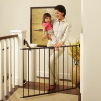 """Toddleroo by North States Easy Swing and Lock Baby Gate, 28.68''-47.85"""" Wide, Matte Bronze"""
