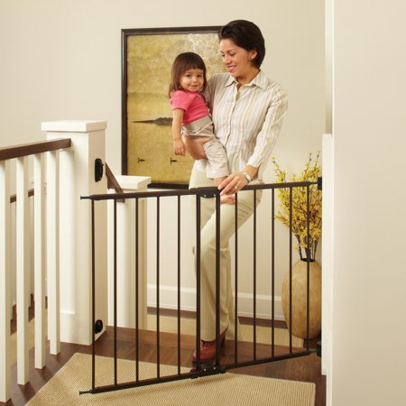 cca58837c North State Swing Door Stairway Baby Gate
