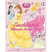 Ultimate Sticker Book: Disney Princess: Enchanted (Paperback)