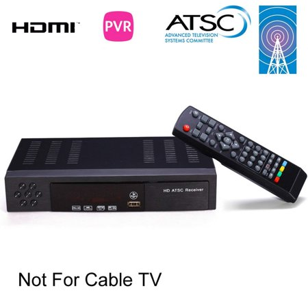 MiiU (TM) ATSC Tuner Digital TV Converter Box and Media Player w/ Recording PVR Function / HDMI Out / Coaxial Out / Composite Out / USB Input - image 1 of 5
