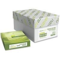 Nature Saver, NAT06045, Recycled Paper, 5000 / Carton, White