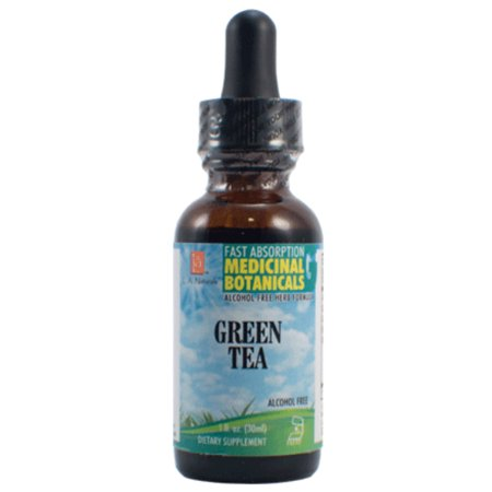 L A Naturals Green Tea Glycerine, 1 Oz (1 Ounce Glycerine)