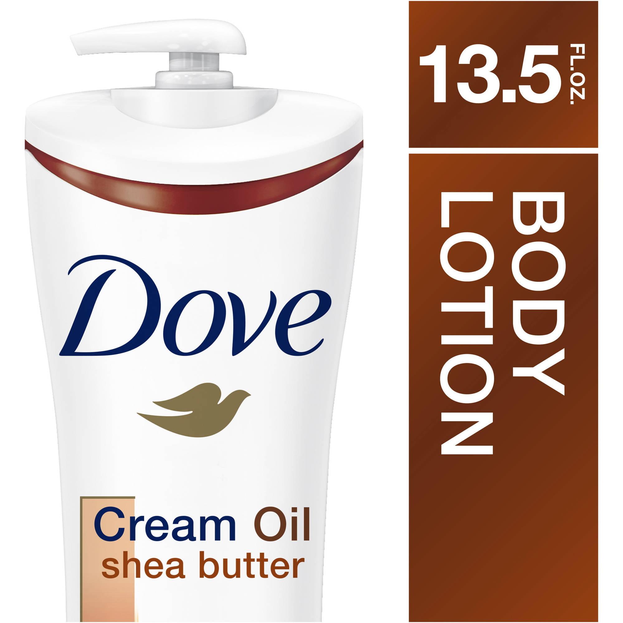 Dove Cream Oil Shea Butter Body Lotion, 13.5 oz