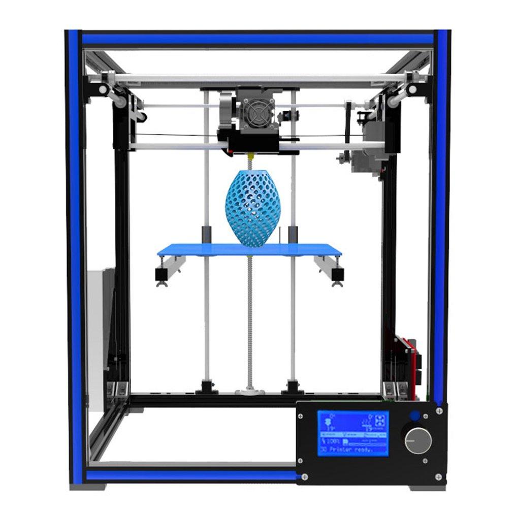 Tronxy X5 High Precision Aluminium Profile Structure 3D Printer Large Print Size 210*210*280mm Max US Plug