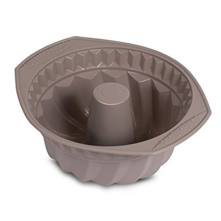 Internets Best Silicone Fluted Cake Mold | Bundt Cake Pan | Bread Chocolate Bakeware | BPA