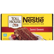 Baking Chips & Chocolate: Nestlé Toll House Semi-Sweet Baking Bar