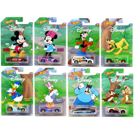 Hot Wheels 2019 Disney 90th Anniversary  Exclusive 8 Cars Set Collectibles Toy Car 1/64 Scale Diecast