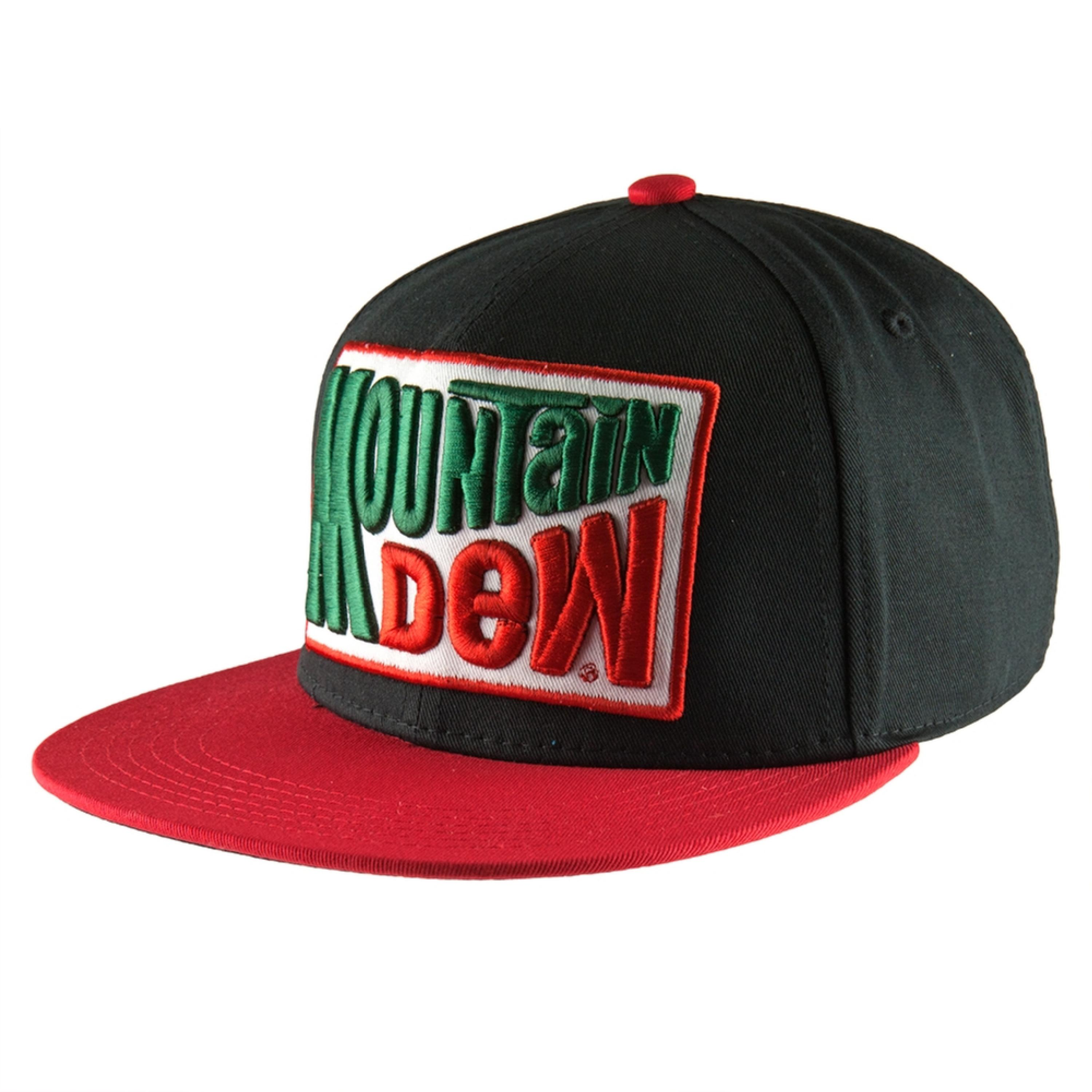 Mountain Dew - Patch Logo Snapback Cap