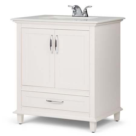 Brooklyn + Max Homer 30 inch Traditional Bath Vanity in ...