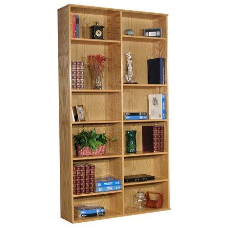"Rush Furniture Heirloom 86"" Standard Bookcase"