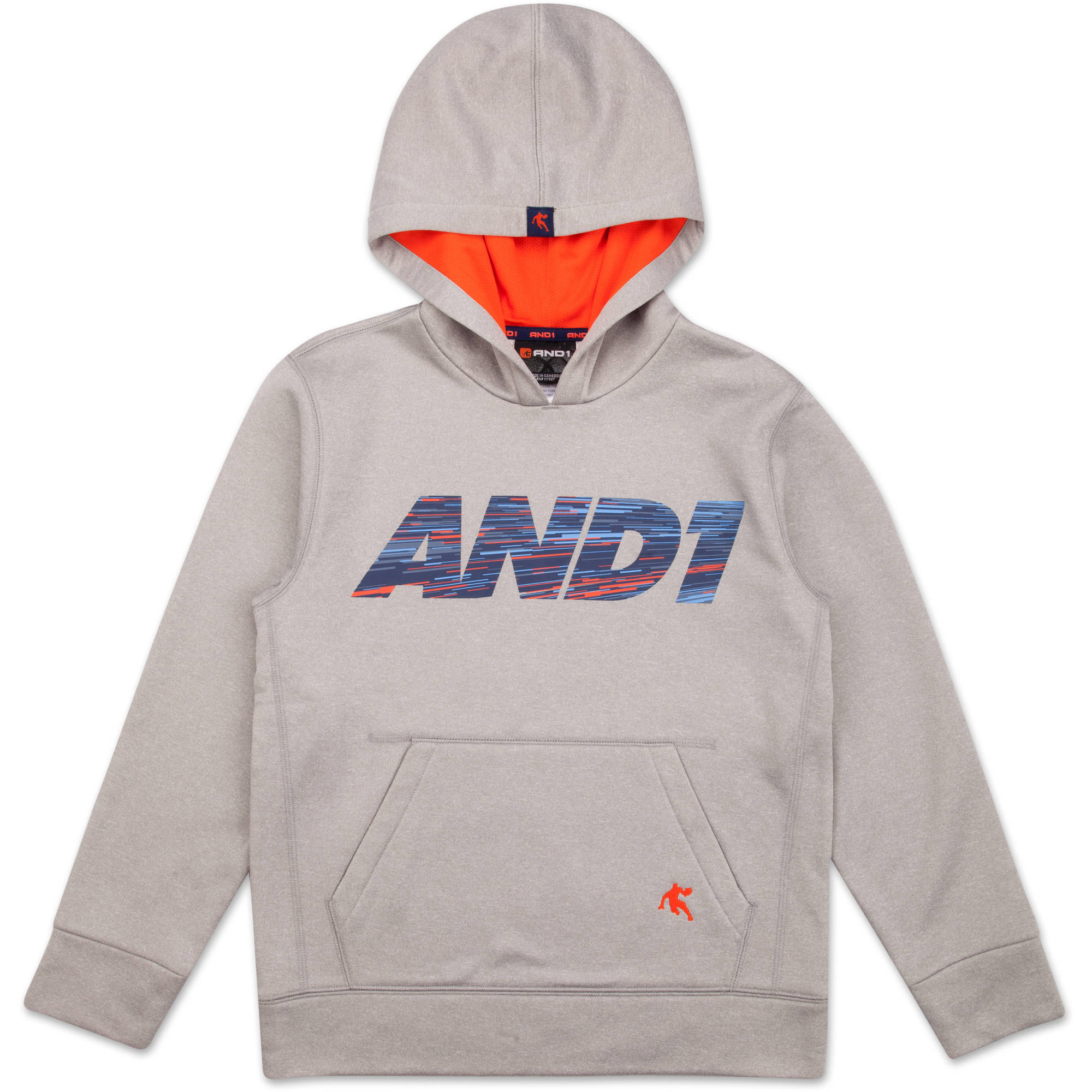 AND1 Boys Fast Break Pullover Hoody