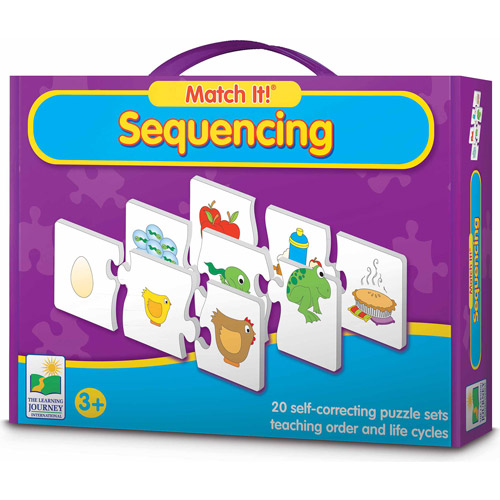 The Learning Journey Match It! Sequencing