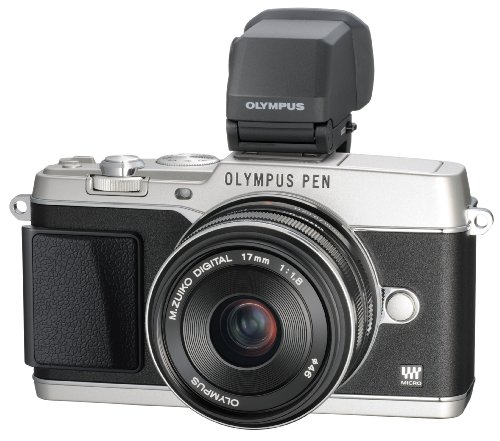 Olympus E-P5 17mm f1.8 and VF-4 16.1 MP Compact System Camera with 3-Inch LC... by Olympus