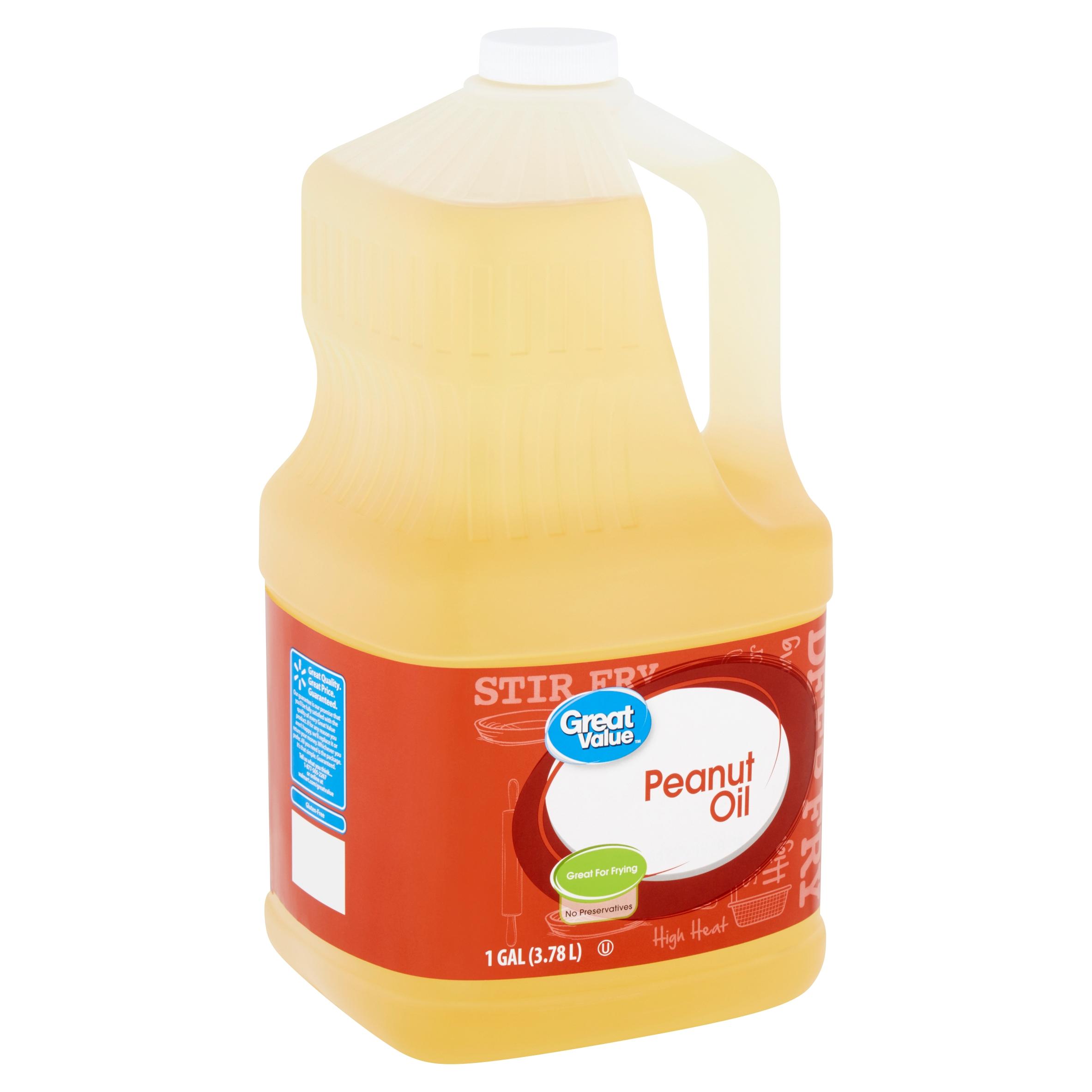 Great Value Peanut Oil, 1 gal