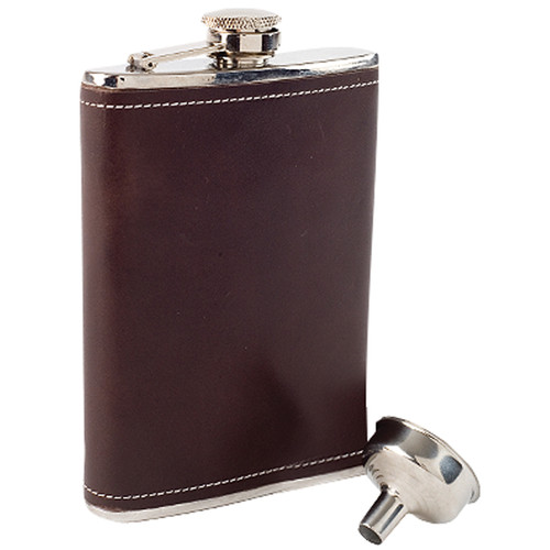 Coleman Leather 8 oz Tailgater Flask