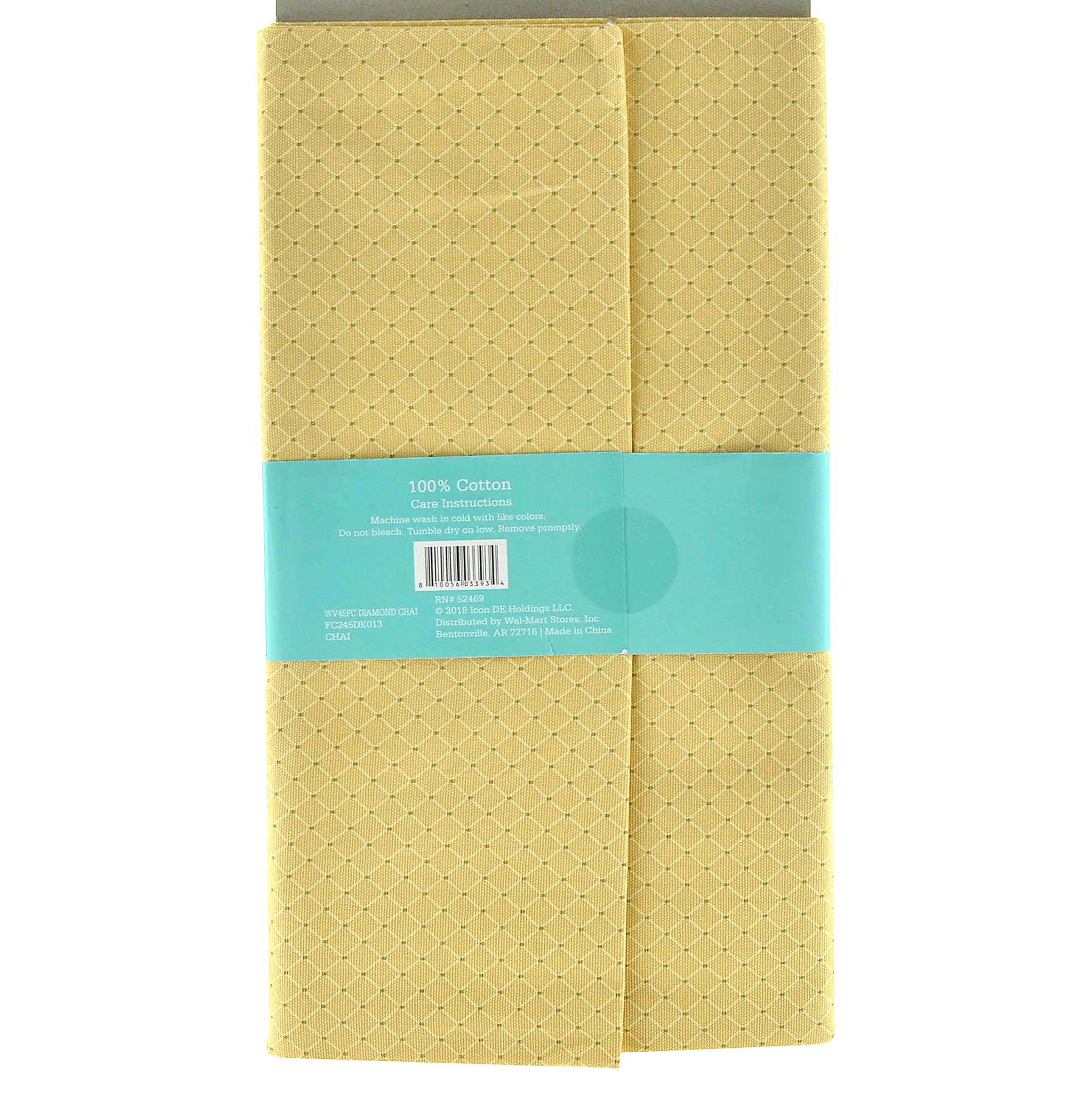 Waverly Inspirations 100% Cotton Duck Fabric, 2 yards, Diamond Chai