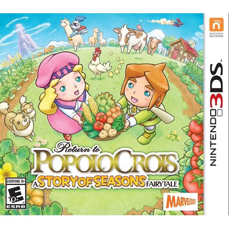 Return to PopoloCrois: A STORY OF SEASONS Fairytale - Nintendo 3DS, Distinctive Classical Style of Role-Playing - Hearkens back to the golden age of RPGs,.., By