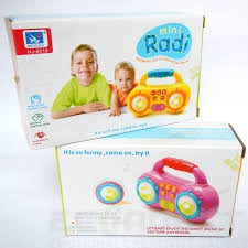 Playbabytoys Mini Baby Music Radio   Play Songs And Listen To Music   Engage Your Baby At Any Time Anywhere   Children S Early Education Toys