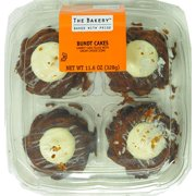 The Bakery Carrot Mini Bundt Cakes, 11.6oz