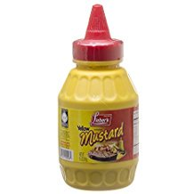 Lieber's Yellow Imitation Mustard Kosher For Passover 8.5 Oz. Pack Of