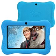 """Contixo 7"""" Kids Tablet Android 8.1 with WiFi Camera 16GB Learning Tablet for Toddlers Children Kids Place Parental Control Pre-installed 20+ Education Apps w/Kid-Proof Protective Case (Blue)"""