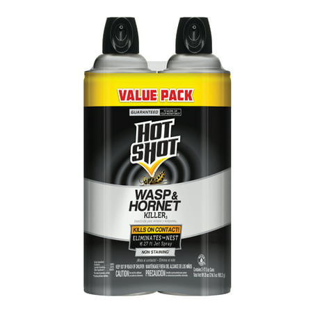 Hot Shot Wasp & Hornet Killer, Aerosol Spray,