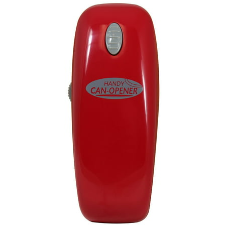 Handy Can Opener RED Automatic One Touch Battery
