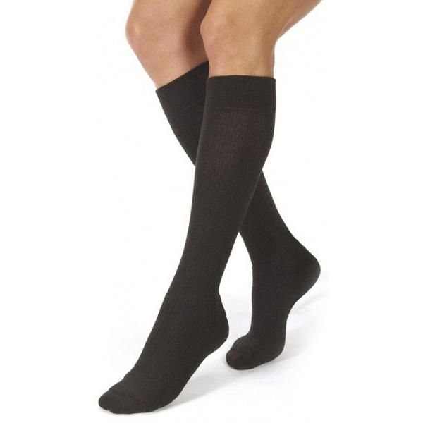 Jobst ActiveWear Knee High-30-40 mmHg-Small-Black
