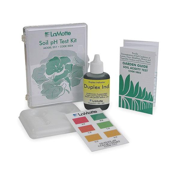 Soil pH Test Kit, pH Range 4.0  to 8.0