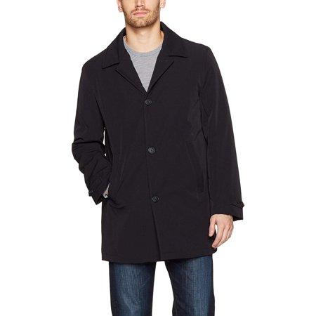 Calvin Klein Black Blazer - Calvin Klein Men's Rain Jacket, Black Solid, 36 Regular