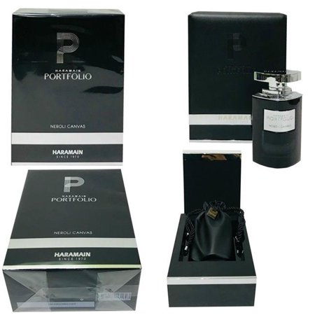 Canvas Spray - Haramain 40567 2.5 oz Portfolio Neroli Canvas Eau De Parfum Spray for Men