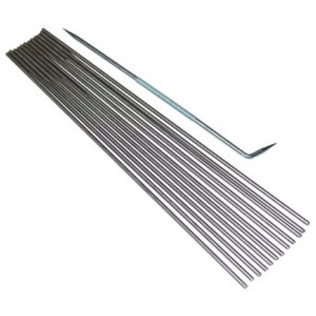 Mandrels and Rake for Glass Bead Making By Fireworks Ship from