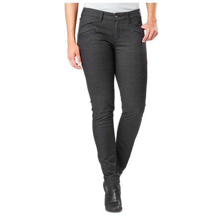 5.11 Tactical Women's Defender-Flex Slim Pants, Volcanic, 4/Long thumbnail