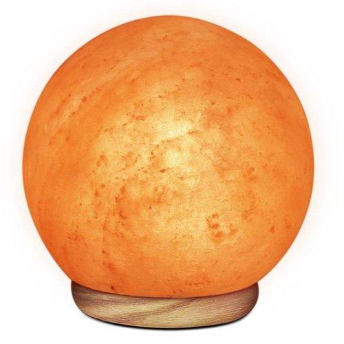WBM Himalayan Iconic Salt Crystal Sun Globe Lamp