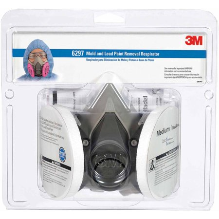 3M Protection Mold and Lead Particle Respirator, Medium